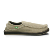 Sanuk Chiba Mens Shoes, Tan, medium