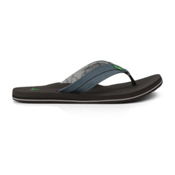 Sanuk Beer Cozy Light Mens Flip Flops, Navy, medium