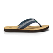 Sanuk Dr. Fray Mens Flip Flops, Slate Blue, medium