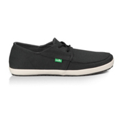 Sanuk Knock Out Mens Shoes, Dusty Black, medium
