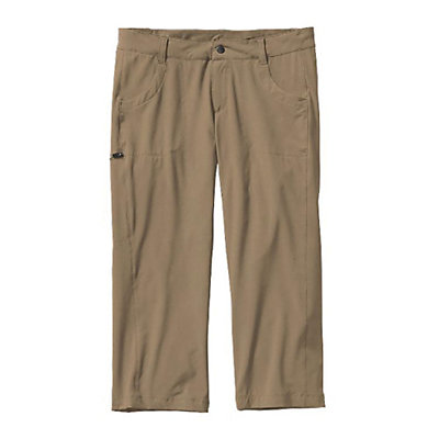 Patagonia Happy Hike Capris Womens Pants, Ash Tan, viewer