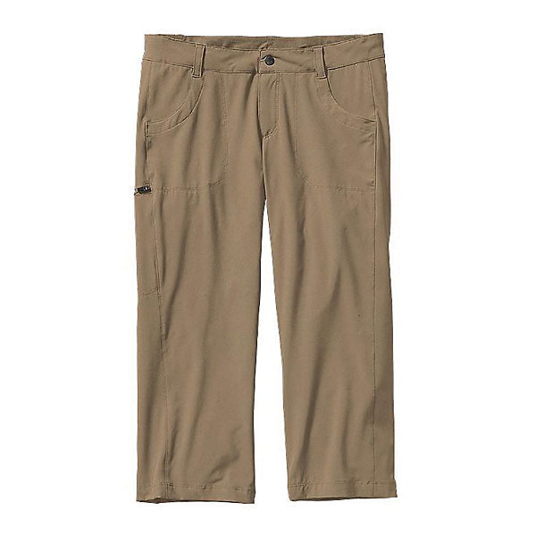 Patagonia Happy Hike Capris Womens Pants, Ash Tan, 600