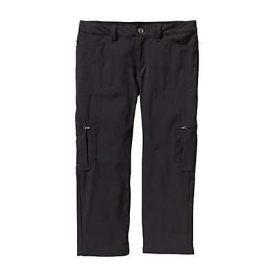 Patagonia Tribune Capris Womens Pants, Black, viewer
