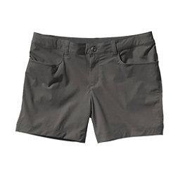 Patagonia Quandary Womens Shorts, Forge Grey, 256
