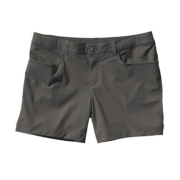 Patagonia Quandary Womens Shorts, Forge Grey, 600