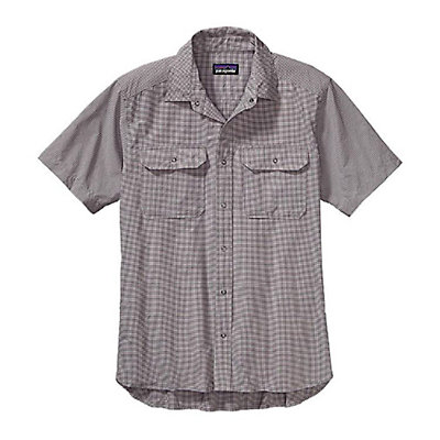 Patagonia El Ray Mens Shirt, Skipper Blue, viewer
