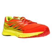 Salomon Sense Link Mens Shoes, Gecko Green-Tomato Red-Black, medium