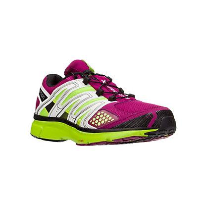 Salomon X-Mission 2 Womens Shoes, Mystic Purple-Light Grey-Granny Green, viewer