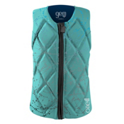 O'Neill Gem Comp Womens Life Vest 2016, Seaglass-Navy, medium