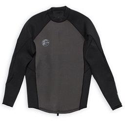 O'Neill O'riginal 2/1 Jacket Wetsuit Top 2017, Black-Black-Black, 256