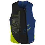 O'Neill Revenge USCG Adult Life Vest 2016, Black-Pacific-Day Glo, medium