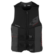 O'Neill Assault LS USCG Adult Life Vest 2016, Black-Graphite, medium