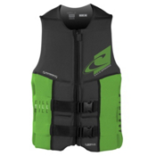 O'Neill Assault LS USCG Adult Life Vest 2016, Graphite-Dayglo, medium