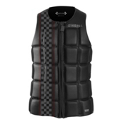 O'Neill Checkmate Comp Adult Life Vest 2016, Black-Black, medium
