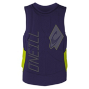 O'Neill Gooru Tech Comp Adult Life Vest, Indica-Lime, medium