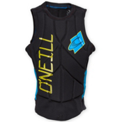 O'Neill Gooru Tech Comp Adult Life Vest, Black-Sky, medium