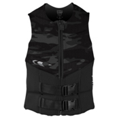 O'Neill Outlaw Comp Adult Life Vest 2016, Black-Black-Black, medium