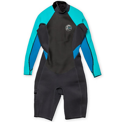 O'Neill Bahia Long Sleeve Spring Womens Shorty Wetsuit 2016, , viewer