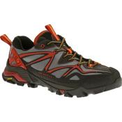 Merrell Capra Sport Mens Hiking Boots, Light Grey-Red, medium