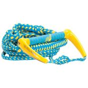 Proline LGS Wakesurf Rope 2016, Blue-Yellow, medium