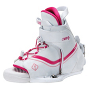 CWB Sage Womens Wakeboard Bindings 2015, White-Pink, medium