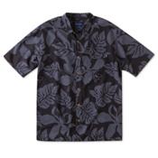 O'Neill Maya Bay Mens Shirt, Charcoal, medium
