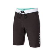 O'Neill Santa Cruz Scallop Board Shorts, Black, medium