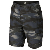 Oakley Hybrid Cargo Board Shorts, Jet Black, medium