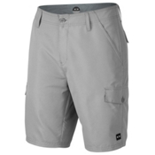 Oakley Hybrid Cargo Board Shorts, Stone Grey, medium
