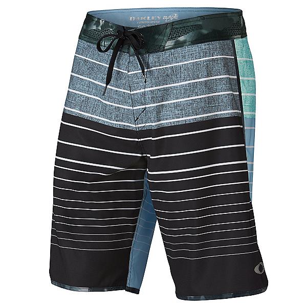 Oakley Blade Straight-Edge Mens Board Shorts, Faded Denim, 600