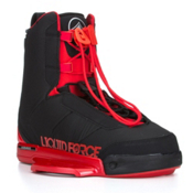 Liquid Force Tao Wakeboard Bindings 2015, Black-Red, medium