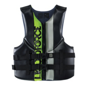 Liquid Force Vortex Adult Life Vest 2015, Black-Green, medium