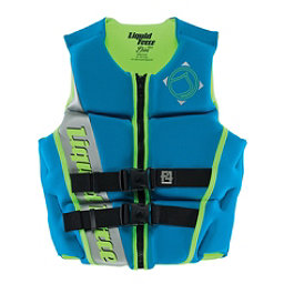 Liquid Force Diva Womens Life Vest, Aqua-Green, 256