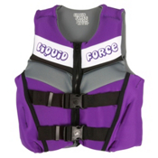 Liquid Force Dream Youth Junior Life Vest, Purple, medium