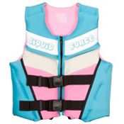 Liquid Force Dream Youth Junior Life Vest 2016, Teal-Pink, medium