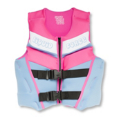 Liquid Force Dream Youth Junior Life Vest 2016, Blue-Pink, medium