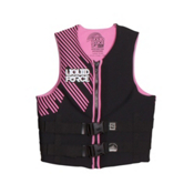 Liquid Force Hinge Classic Womens Life Vest 2017, Pink, medium
