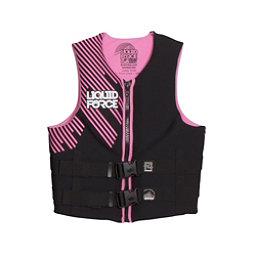 Liquid Force Hinge Classic Womens Life Vest 2017, Pink, 256