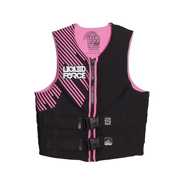 Liquid Force Hinge Classic Womens Life Vest 2017, Pink, 600