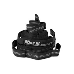 ENO Atlas XL Suspension Strap 2017, Black-Grey, 256