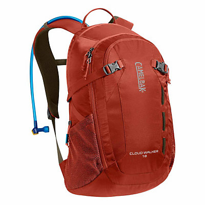 CamelBak Cloud Walker Hydration Pack 2016, Sienna Red-Dark Red, viewer