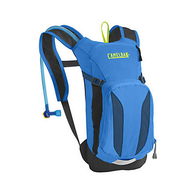 CamelBak Mini-M.U.L.E. Hydration Pack, Electric Blue-Poseidon, viewer