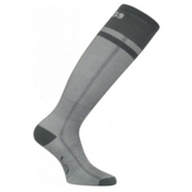 Euro Sock Snow Supreme Base Ski Socks, Anthracite, medium