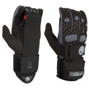 Radar Skis Vice Water Ski Gloves 2016, Black-Silver, medium