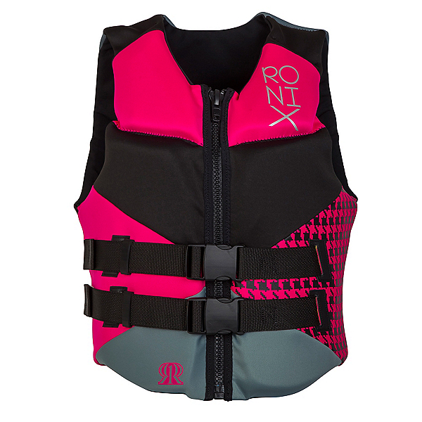 Ronix Daydream Womens Life Vest 2017, Black-Sid Pink, 600