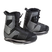 Ronix Preston Wakeboard Bindings, Black Chrome-Night, medium