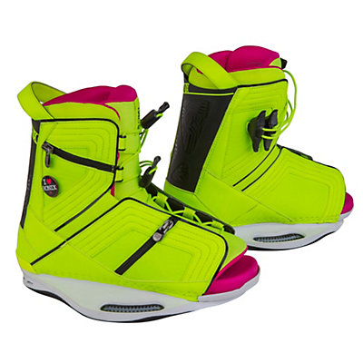 Ronix Halo Womens Wakeboard Bindings, Highlighter, viewer
