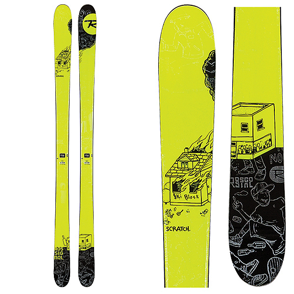Rossignol Scratch Skis, , 600