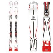 Rossignol Pursuit 14 Skis with Axium 110 TPI2 Bindings, , medium
