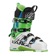 Lange XT 130 L.V. Ski Boots, White-Lime, medium